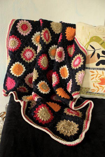 moonshine & wool: baby blanket * Midsummer Night *