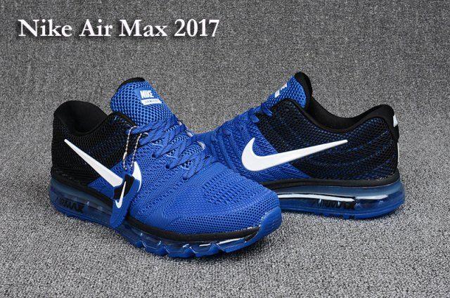 Latest style Nike Air Max 2017 KPU Royal Blue Black Men's