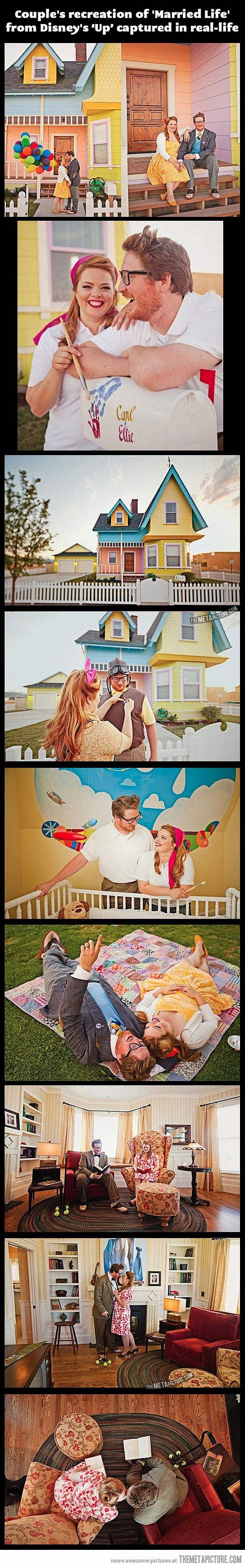 'Up' in real life…this is far too cute!: