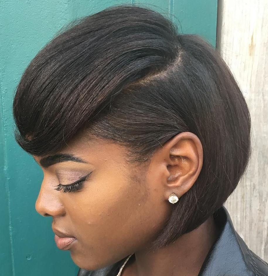 60 Great Short Hairstyles For Black Women In 2020 Black Bob