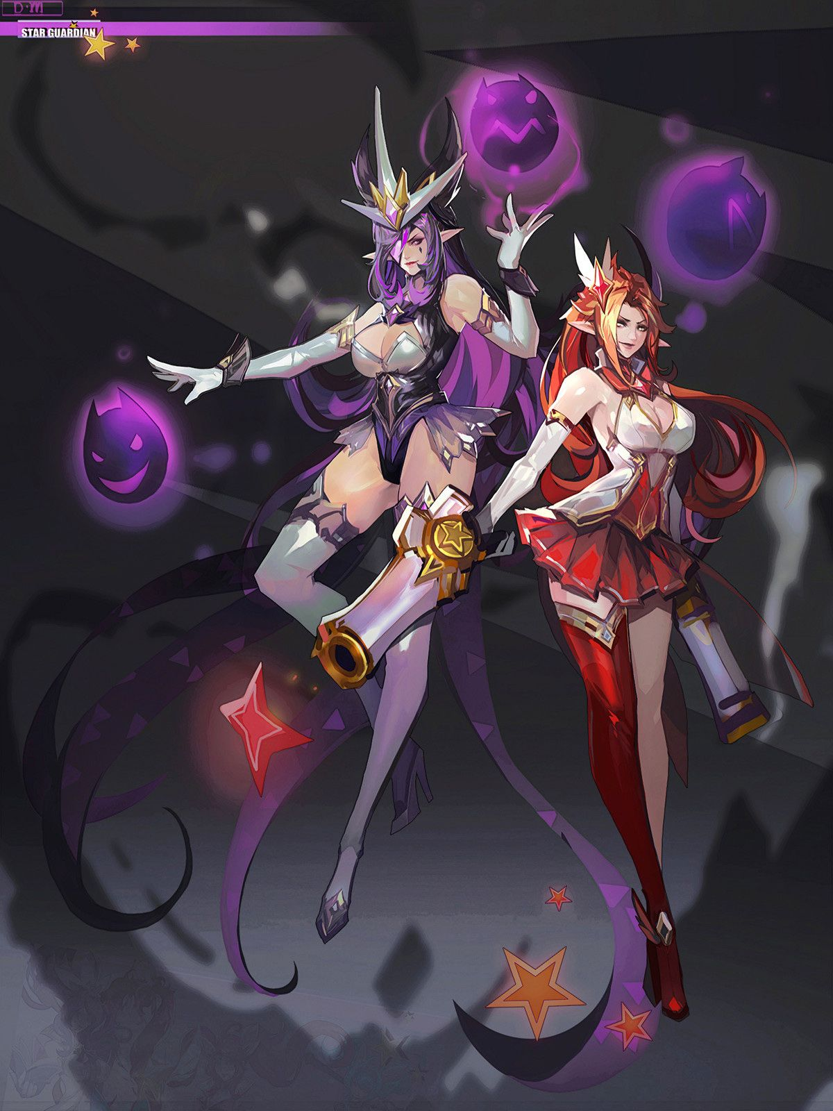 Star Guardian Syndra and Miss Fortune - League of Legends