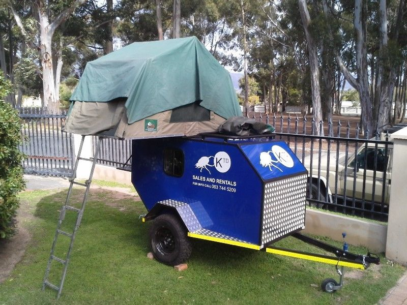 Lightweight Teardrop Size Camper Trailers Sleeps 2 Somerset West