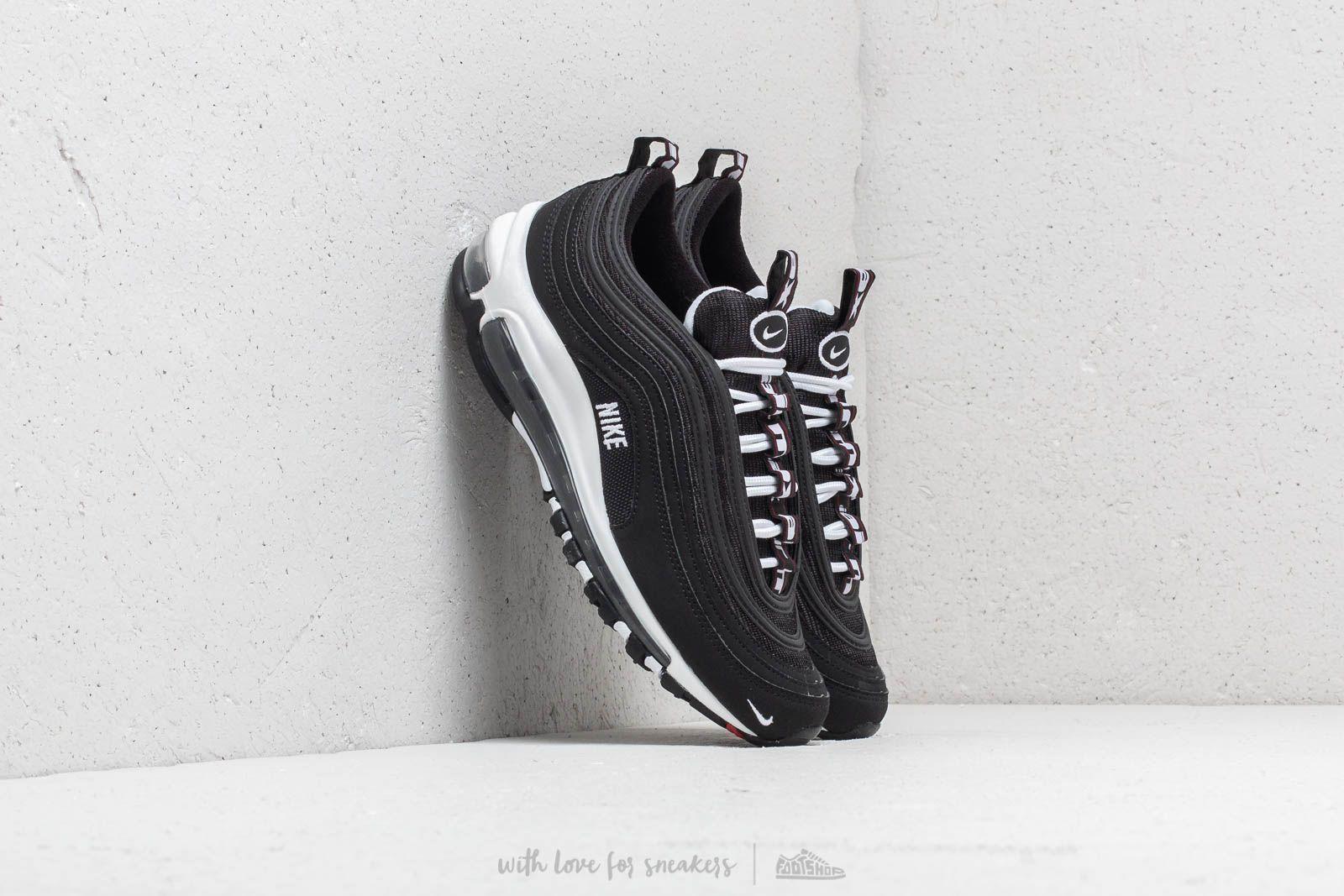 huge discount 53611 1d05c Nike Air Max 97 SE (GS) Black White-Varsity Red la un