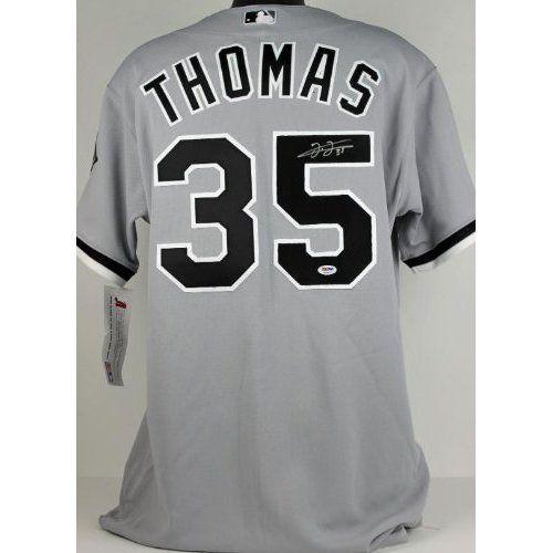 size 40 768b1 bcc5c Amazon.com: WHITE SOX FRANK THOMAS AUTHENTIC SIGNED JERSEY ...