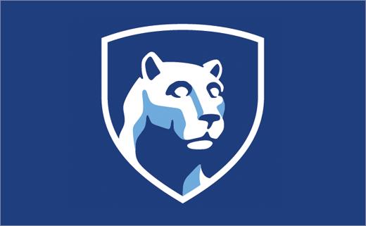 Penn State University Reveals New Logo Design Logo Design Initials Logo Design Initials Logo