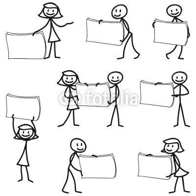 strichm nnchen schilder plakate flip chart pinterest. Black Bedroom Furniture Sets. Home Design Ideas