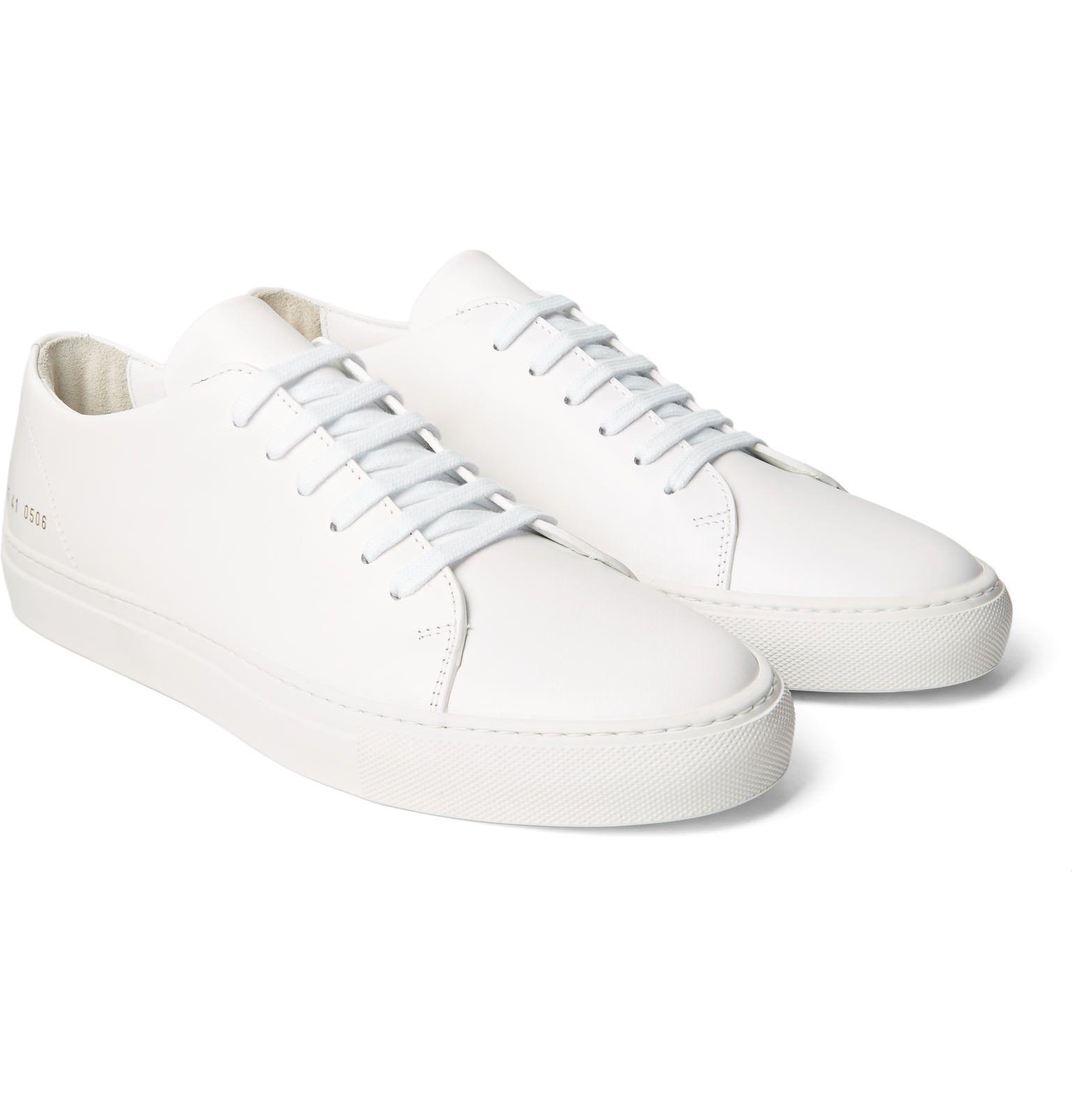 COMMON PROJECTSDesigner Shoes, Leather Achilles Super Men's Sneakers