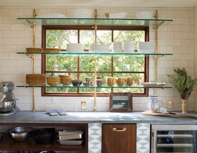 Elegant LOVE This French Bistro Shelving! A Collection Of Design Ideas For No Window  Over The