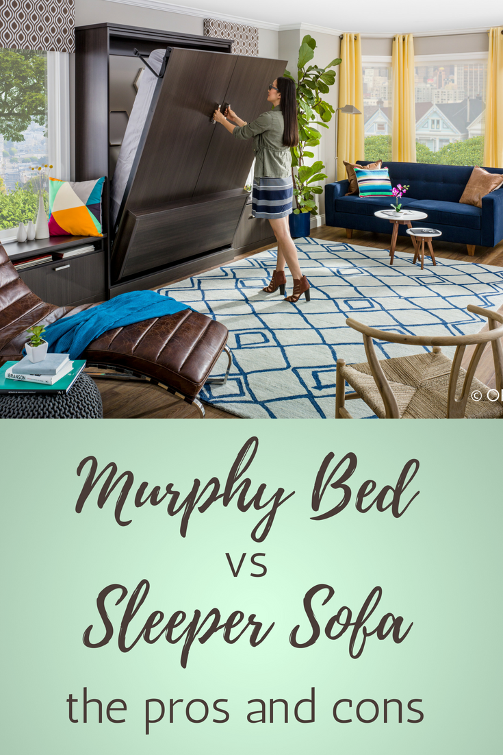 Pros Cons Murphy Wall Bed Or Sleeper Sofa For A Columbus Loft