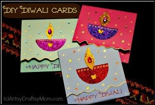 How to make a diwali greeting card artsy craftsy pinterest how to make a diwali greeting card m4hsunfo
