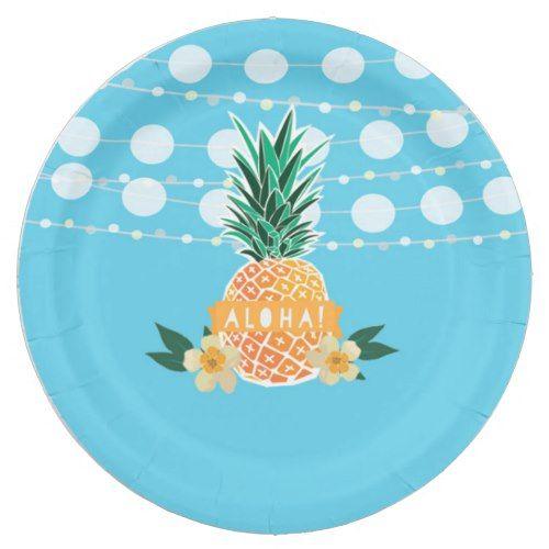 Luau Party Plates  sc 1 st  Pinterest & Luau Party Plates | Luau party and Luau
