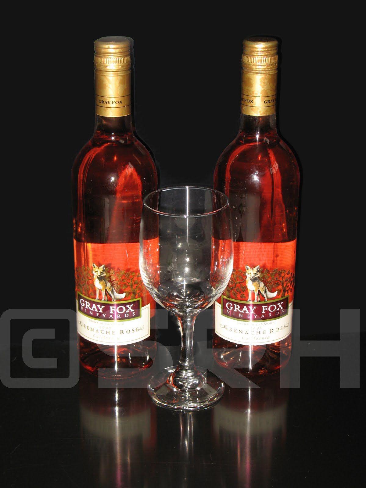 Grey Fox Rose Wine Wine Drinks Wine Bottle Rose Wine