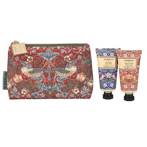 Heathcote & Ivory 'Morris & Co. Strawberry Thief' bath and body bag Christmas gift set | Debenhams