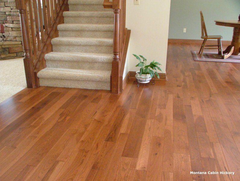 Montana Cabin Hickory Chelsea Plank Flooring Hickory Flooring Plank Flooring Flooring