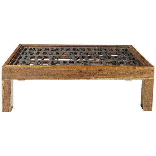 table basse imprimerie salon maison