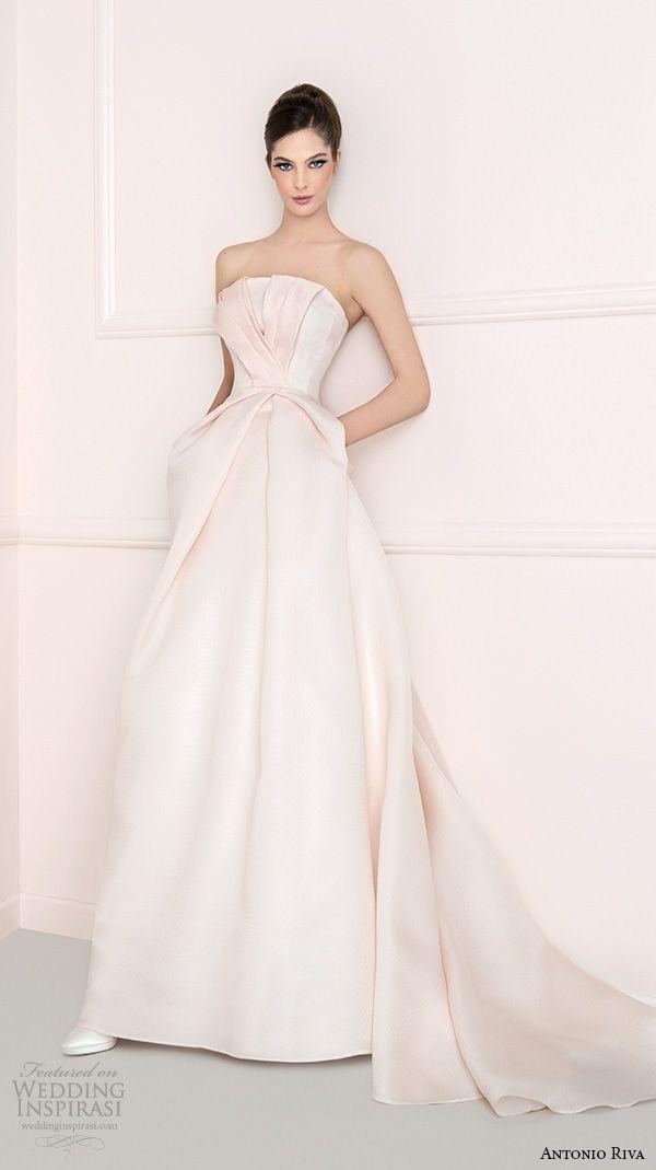 Antonio Riva 2016 Wedding Dresses | Hochzeitskleid mit Spitze ...