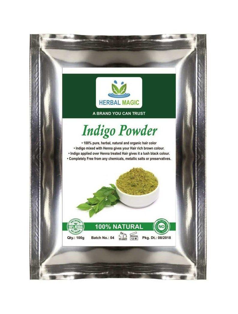 100g Organic Baq Indigo Powder Hair Dye Usda Hair Loss Etsy In 2020 Dyed Hair Organic Henna Reduce Hair Fall