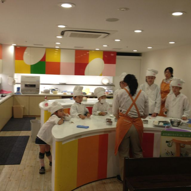 kitchen design for cooks. ABC cooking studio at kidzania tokyo Cooking workshop design  Find out about The School