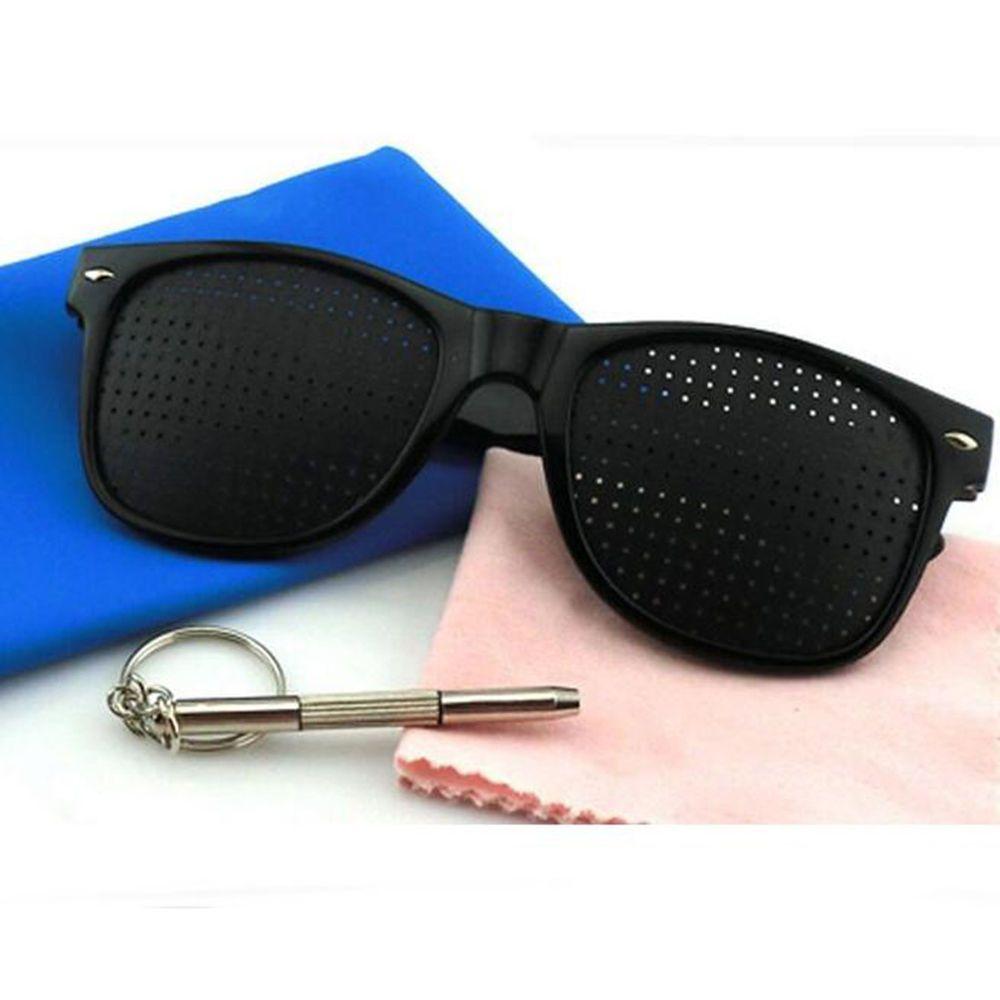 Pinhole Glasses Uniisex Vision Care Anti-myopia Eye