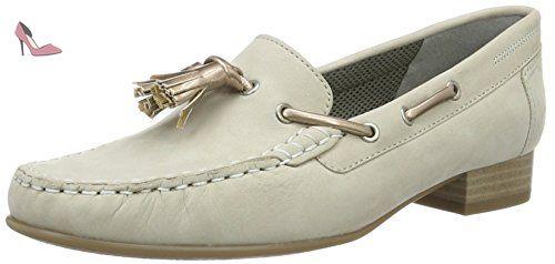 Atlanta, Mocassins (Loafers) Femme - Gris (Cemento,Copper), 36 EU (3 UK)Jenny