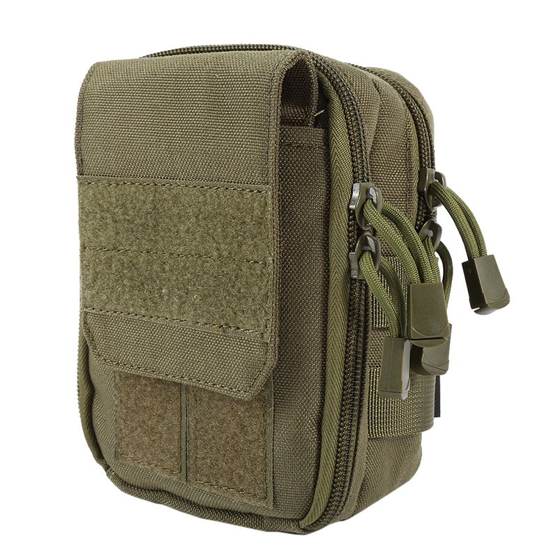 50222193781b 600D Nylon Waterproof Military Molle Sport Bag Utility Travel Waist Bag  Sling Shoulder Bag Hiking Outdoor Pouch
