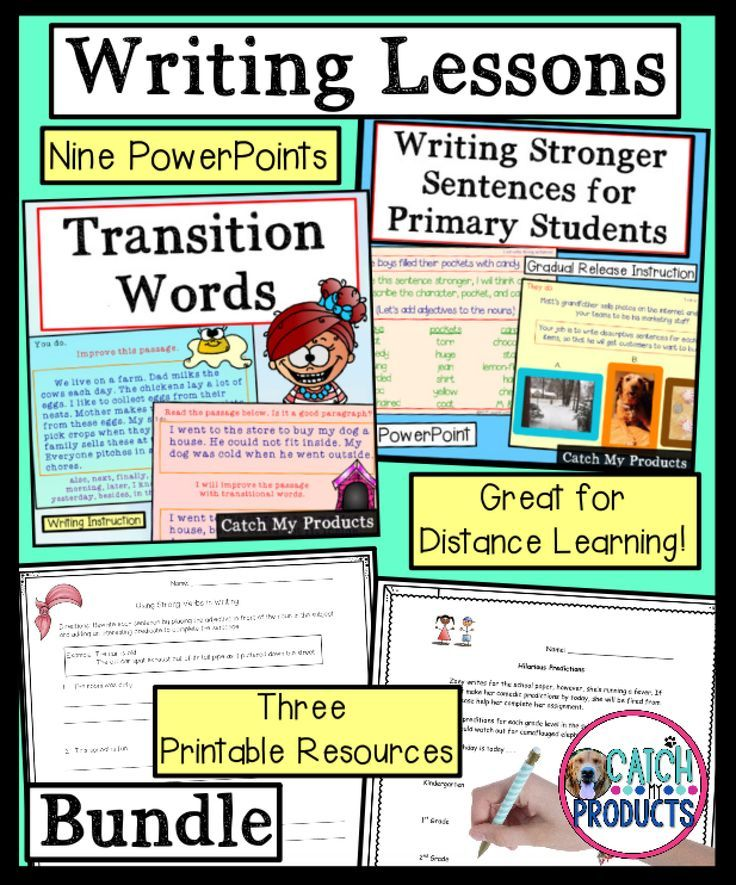 Photo of Writing Lessons for Kids in Primary Grades