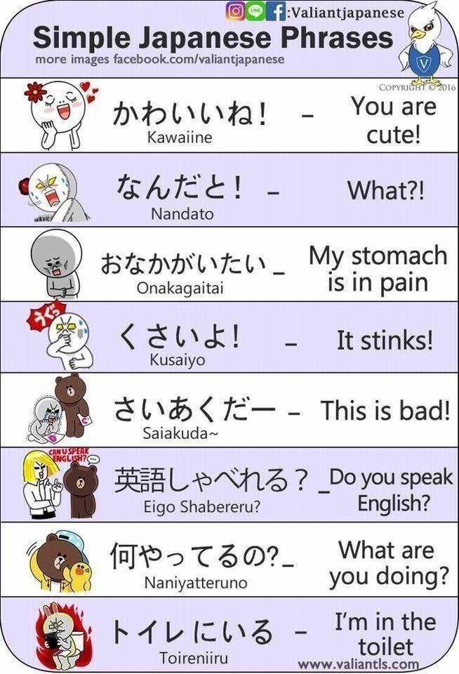 New Funny Cute Learn Simple Japanese With Funny Cartoons Cheezburger Image 9154070528 2