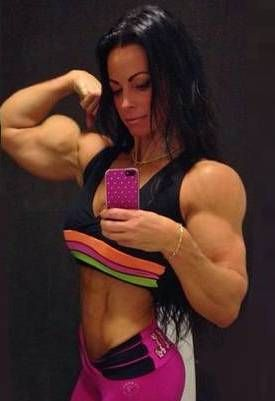 Girl With Huge Biceps