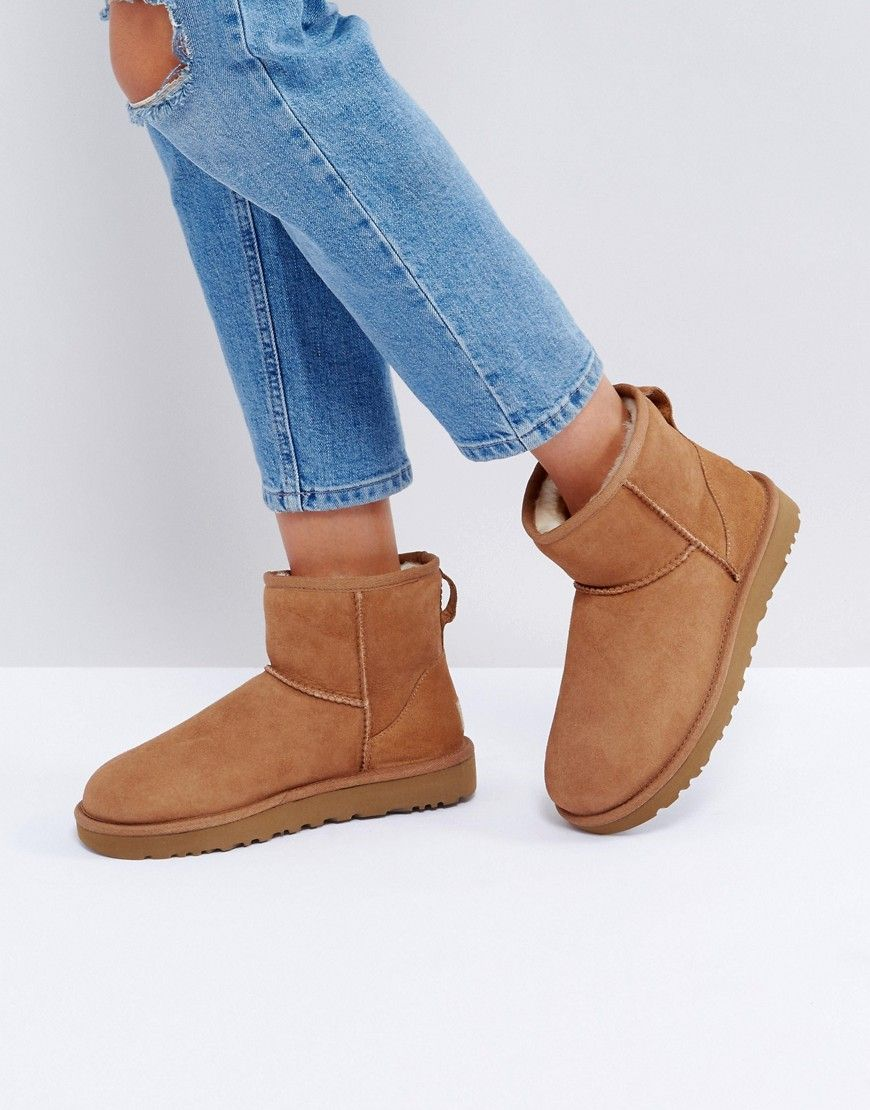 e8de5790424a81 UGG Classic Mini II Chestnut Boots - Tan Classic Fashion Trends