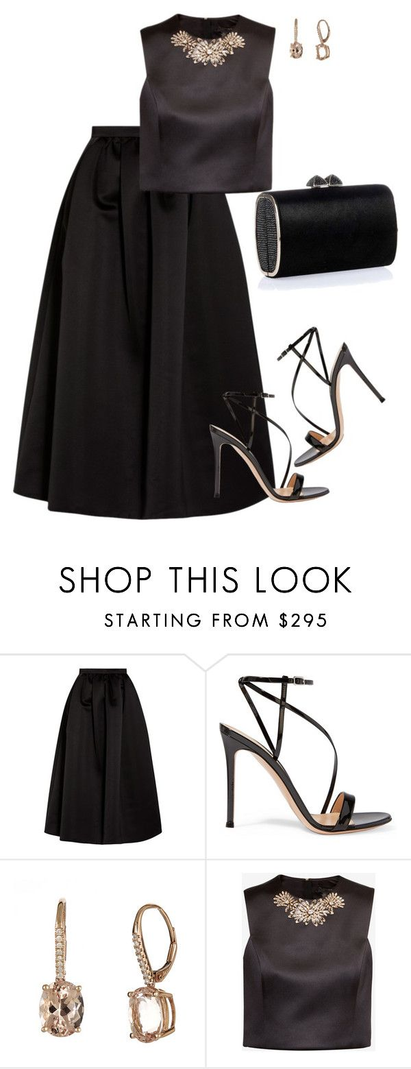 """Gianvito"" by tina-pieterse ❤ liked on Polyvore featuring Emporio Armani, Gianvito Rossi, Ted Baker and Jimmy Choo"