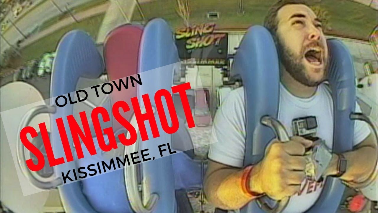 Florida Travel Top Thrill Rides Old Town Slingshot Kissimmee Florida Travel Thrill Ride Florida Attractions
