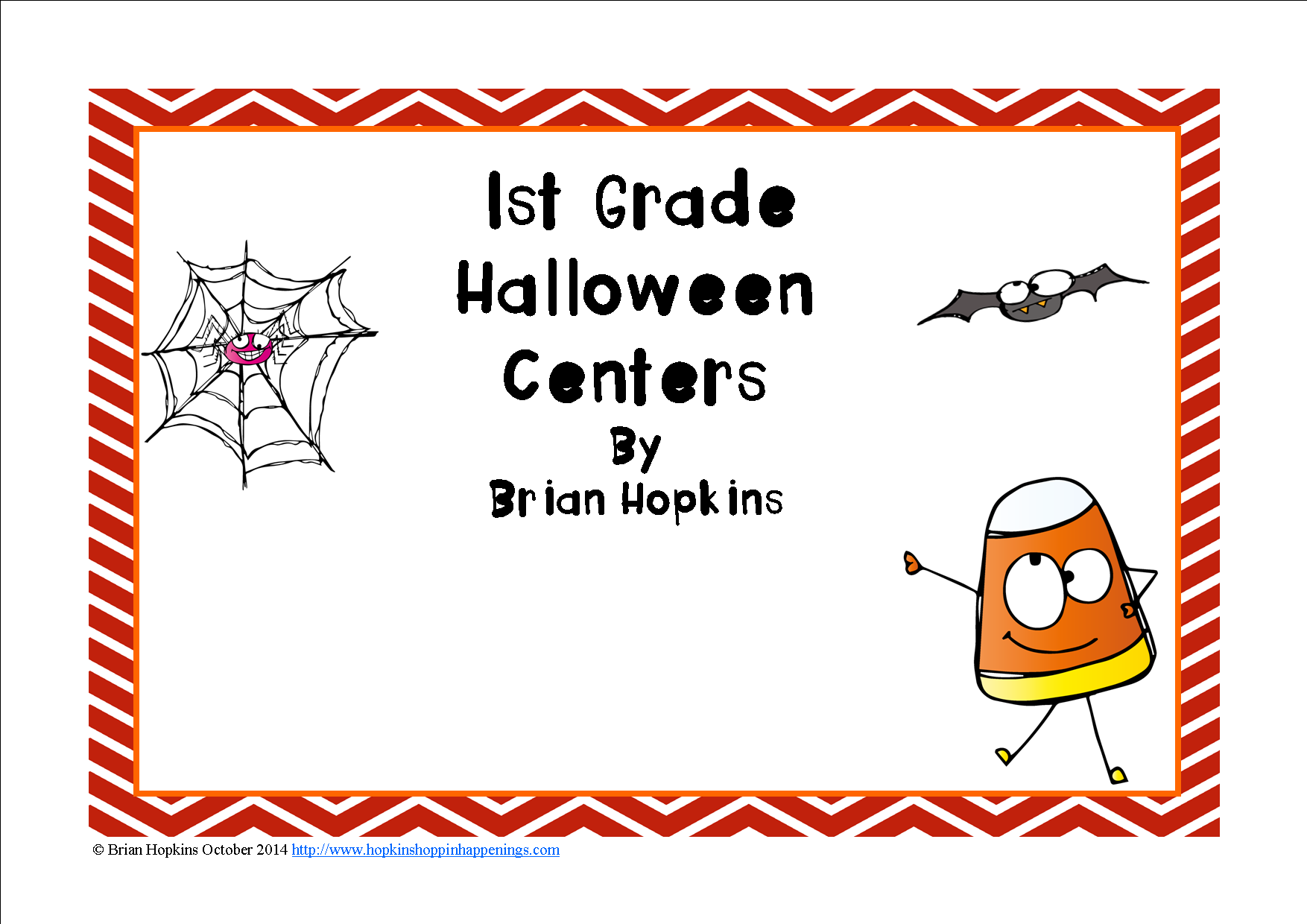 Halloween 1st Grade Reading And Math Centers