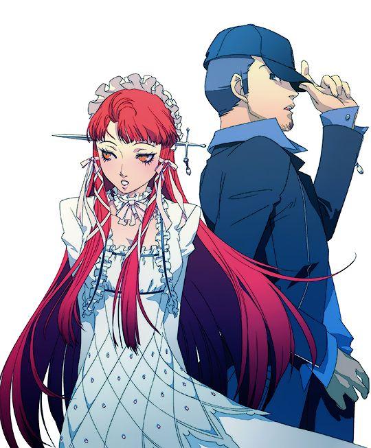 Persona 3 Aigis Ryoji and Yuuki MakotoMinato Arisato t