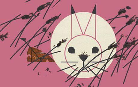 Honey Bunny by Charley Harper.