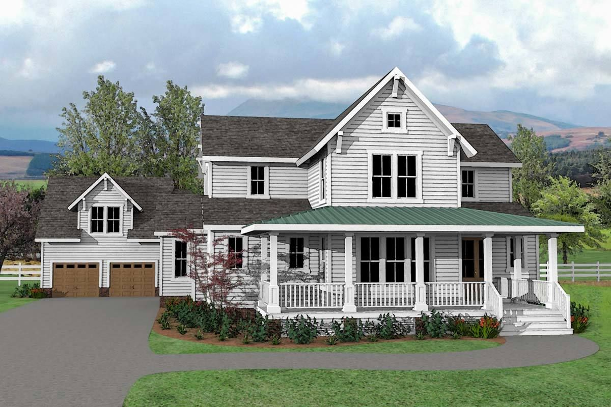 Plan 500026vv Charming And Exclusive Farmhouse House Plan House Plans Farmhouse Farmhouse House House Plans