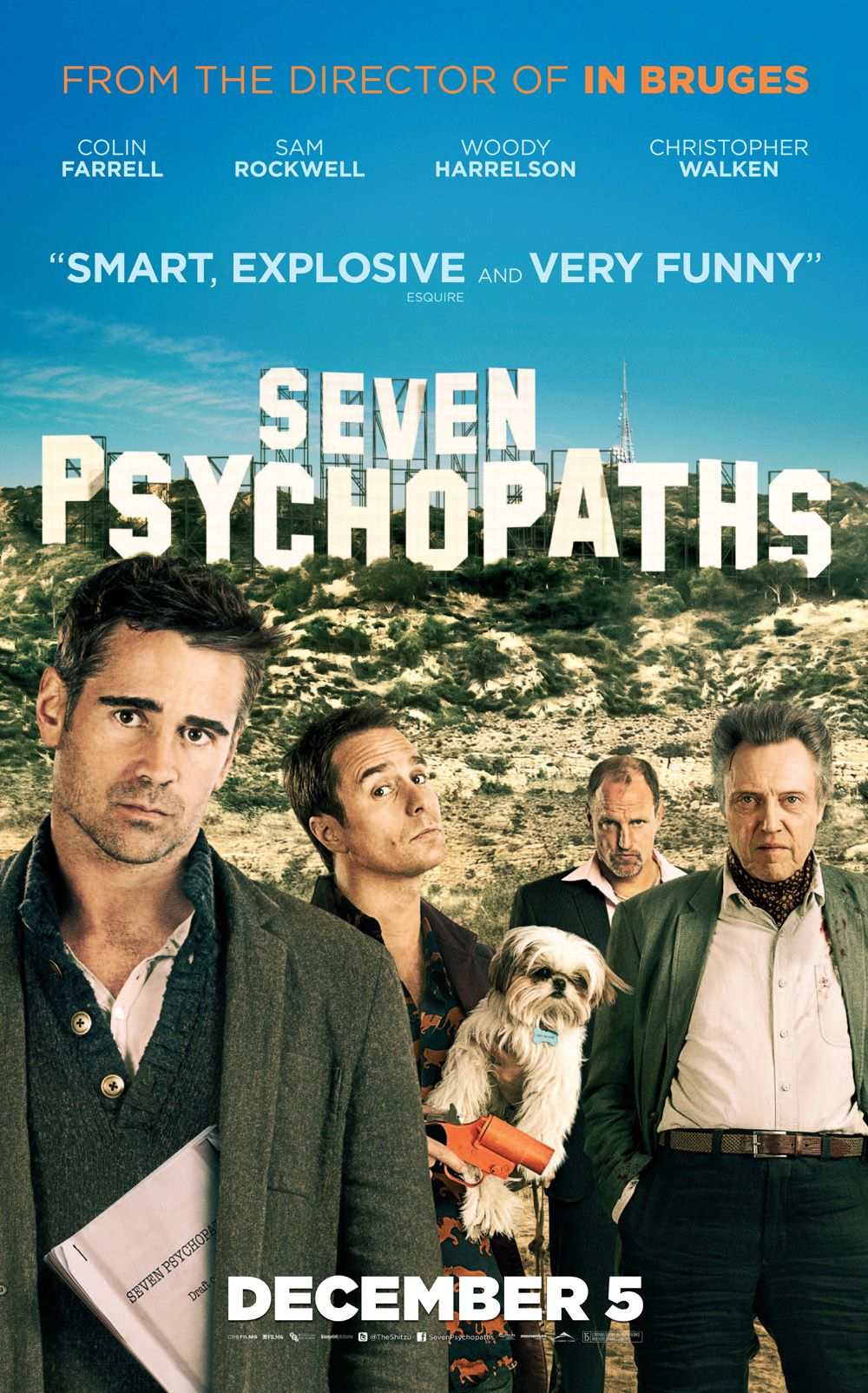 Seven Psychopaths Unrated Edition
