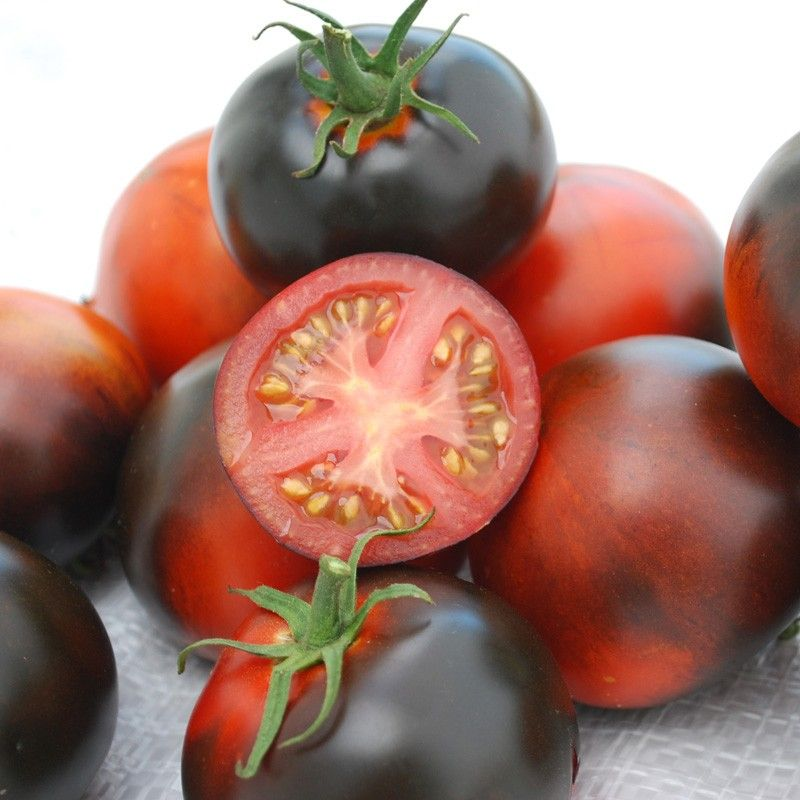 Organic Tomato Indigo Apple In 2020 Cherry Tomato Plant 400 x 300
