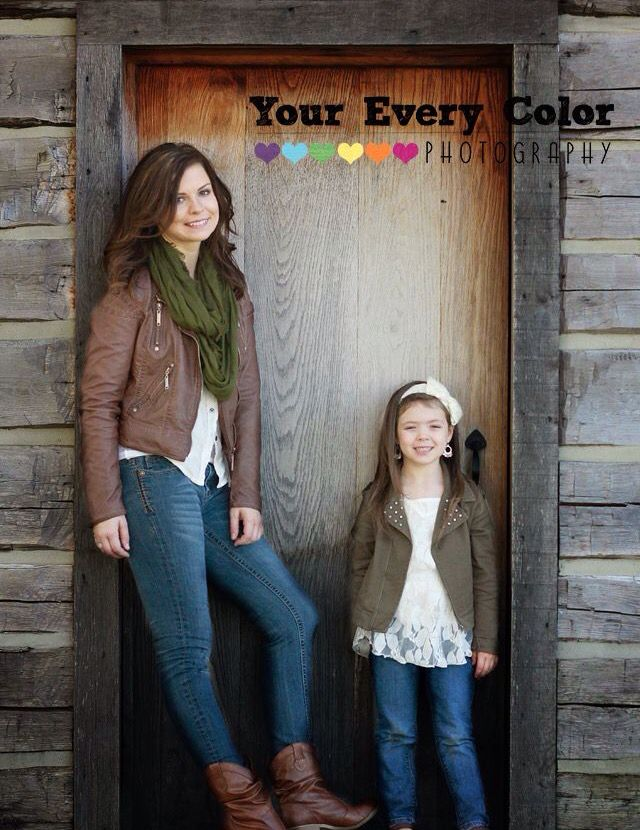 Mother and daughter Christmas card photo idea | Before... | Pinterest