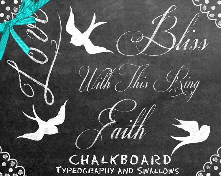 Chalkboard Retro Clipart Frames And Washi Tape Rustic Instant Download