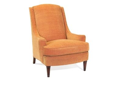 Shop for John Richard Chair-Plush Down Cushion-No Skirt, SOC-1001-10-C330, and other Living Room Chairs at High Country Furniture & Design in Waynesville, NC - North Carolina. Shown With C330 Fabric Inside Seat 24''W X 21''D, Seat 21'' H, Arm 23'' H Nail Head Trim Option - $50 upcharge - 1 Brass 2 Old Gold 3 Nickel Plated 4 Pewter.
