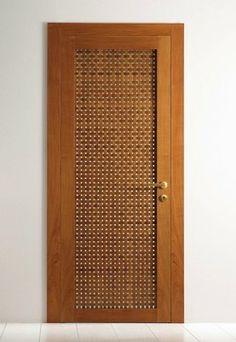 Lattice Swing Door Convert To Interior Room Divider