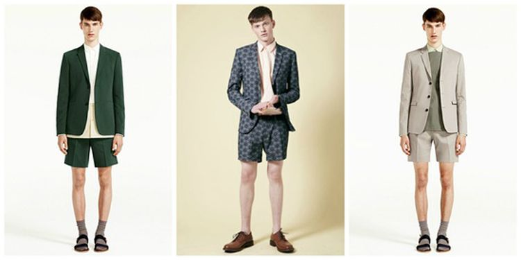 Short Men's Suits | What Kind Of Shorts Men Should Wear For Summer ...