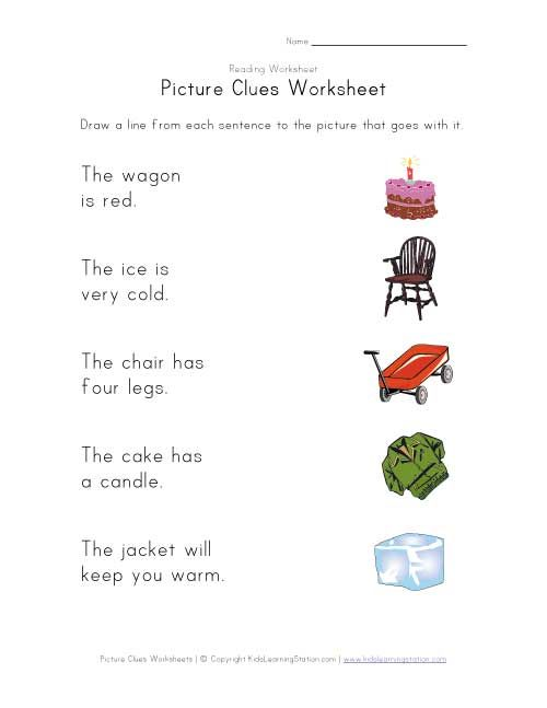 picture clues classroom ideas pinterest worksheets riddle pictures and reading skills. Black Bedroom Furniture Sets. Home Design Ideas