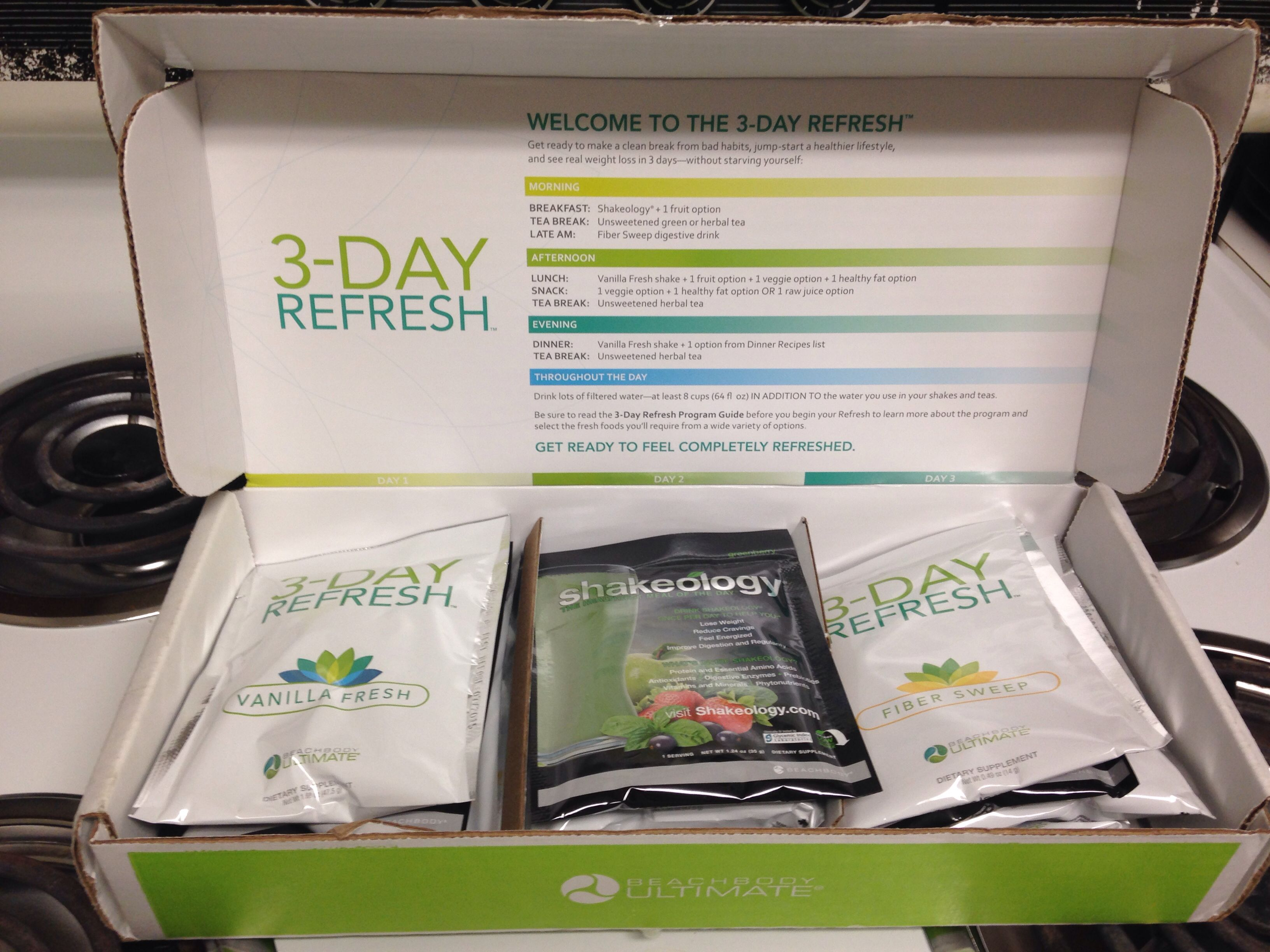 3-Day Refresh with me if you're ready to get back on track and feel great! www.beachbodycoach.com/Khadler