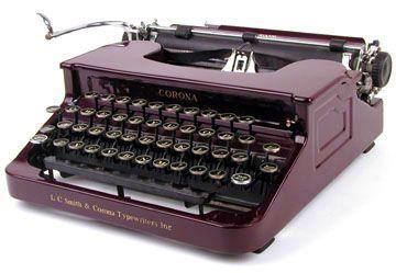 Smith Corona Typewriter Ribbon Standard & Electric Series,Sterling ...