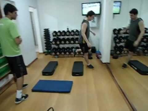 Treinamento Funcional ,agilidade no step. - YouTube