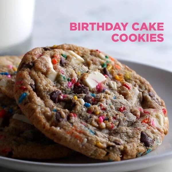 Birthday Cake Mix Cookies Recipe Cake Mix Cookie Recipe Cake