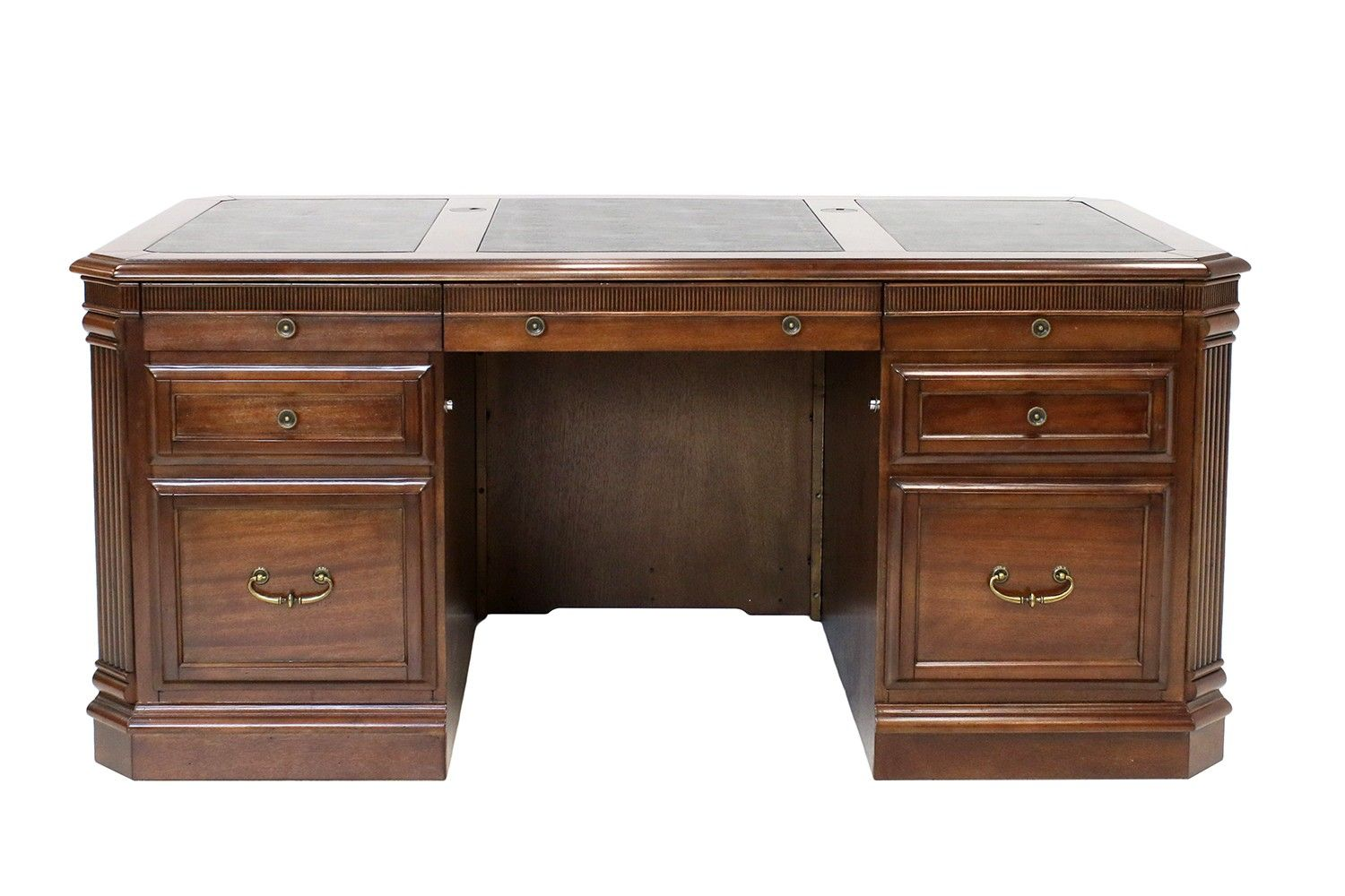 Wellington executive desk home office desks home office mor furniture for less