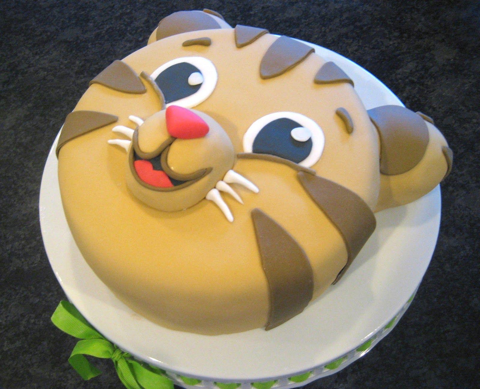 Tiger Cake Daniel Custom Birthday Cake Baby Shower