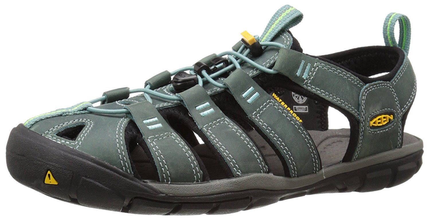 3c4a446ecd1c KEEN Women s Clearwater CNX Leather Sandal     You can find more details by  visiting the image link.